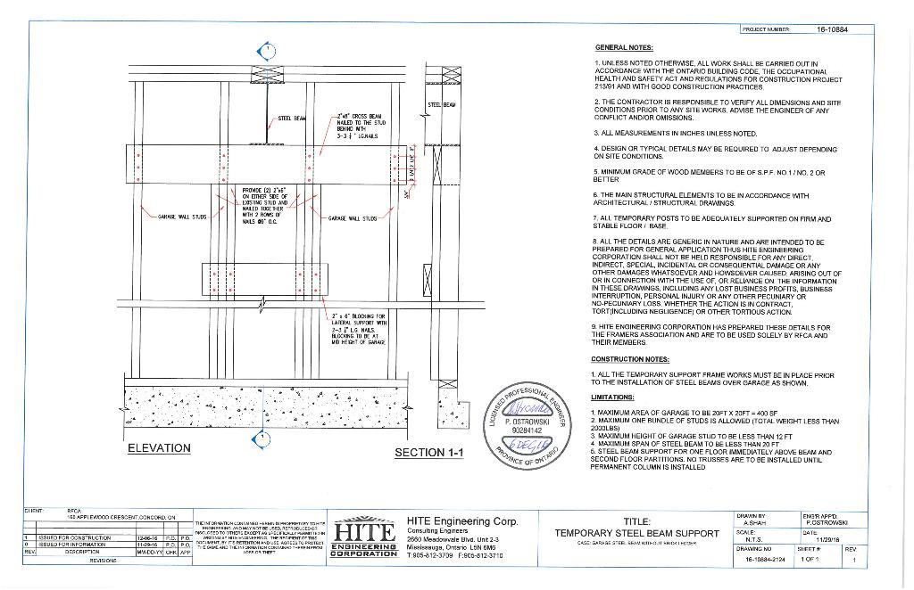 Engineered Drawings | RFCA